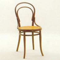thonet chair wooden chair 1859 products designindex. Black Bedroom Furniture Sets. Home Design Ideas